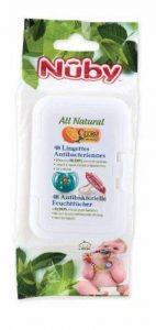 Nûby Citroganix - Lingettes Antibactériennes - 96 Lingettes (2x48) - 0 Mois de la marque Nûby image 0 produit