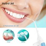 O³ Jet Dentaire Sans Fil - 2 puissances - Utilisable sous la douche-Instructions en Français de la marque Hydro³ Jet image 1 produit