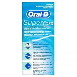 Oral B brins pre-cortadas Superfloss (50) (Pack de 2) de la marque Oral-B image 0 produit
