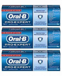 Oral-B - Dentifrice Pro Expert Protection Professionnelle Menthe Extra-fraîche 75 ml - Lot de 3 de la marque Oral-B image 0 produit