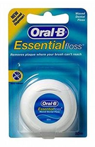 Oral-B Fil dentaire ciré Essentialfloss 50M (Lot de 6) de la marque Oral-B image 0 produit