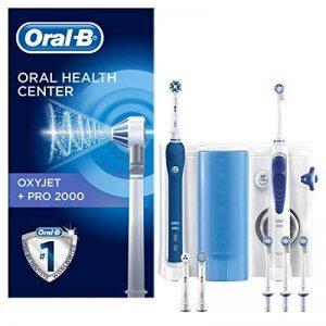 Oral-B PRO 2000 Combiné dentaire + OxyJet : Brosse à dents rechargeable et hydropulseur de la marque Oral-B image 0 produit