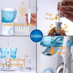 Oral Irrigateur Buccal Jet Dentaire Hydropulseur, [DentJet] Jet Buccal Professionnel étanche pour les soins dentaires et le nettoyage des dents pour une utilisation familiale à la maison avec 7 buses de la marque DentJet image 4 produit