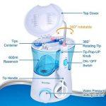Oral Irrigateur Buccal Jet Dentaire Hydropulseur, [DentJet] Jet Buccal Professionnel étanche pour les soins dentaires et le nettoyage des dents pour une utilisation familiale à la maison avec 7 buses de la marque DentJet image 1 produit