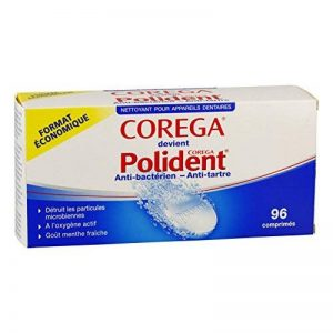 Polident Corega Anti-Bactérien - Anti-Tartre 96 Comprimés de la marque Polident Corega image 0 produit