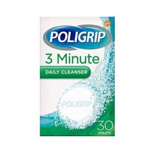 Poligrip Denture 3 Min Ultra Comprimés Nettoyants Paquet de 30 Comprimés de la marque PoliGrip image 0 produit