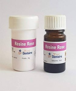 RESINE DENTAIRE ROSE 5g + 4ml de la marque Tout Dentaire image 0 produit