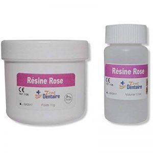 RESINE DENTAIRE ROSE/ROUGE pour Appareil Dentaire - Couleur Gencive Pot 30g de la marque TOUT DENTAIRE image 0 produit
