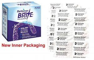 Retainer Brite - Tablette Nettoyante pour Appareil Dentaire contre La Plaque et le Tartre - Boite de 36 de la marque Retainer Brite image 0 produit