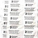 Retainer Brite - Tablette Nettoyante pour Appareil Dentaire contre La Plaque et le Tartre - Boite de 36 de la marque Retainer Brite image 2 produit