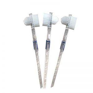 ROSENICE Brosse pour prothèses dentaires Faux dents brosse de nettoyage brosse à dents double face - 3 Pièces de la marque ROSENICE image 0 produit