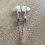 ROSENICE Brosse pour prothèses dentaires Faux dents brosse de nettoyage brosse à dents double face - 3 Pièces de la marque ROSENICE image 1 produit