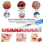 Sans fil Eau dentaires, Hydropulseur rechargeable USB pour les dents de nettoyage blanchissant, Bretelles, des implants, couronnes, poches Parodontales, 5Jet Conseils pour de remplacement, mètre étanche et Approuvé par la FDA par Bowada de la marque BOWA image 3 produit