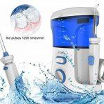 SHANGXIAN Électrique Hydropulseur Nettoyage Dentaire Water Jet 600Ml 5 Types Conseils Tongue Nettoyeur Pointe Haute Pression Hygiène Buccale,Blue de la marque SHANGXIAN image 2 produit