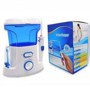 SHANGXIAN Électrique Hydropulseur Nettoyage Dentaire Water Jet 600Ml 5 Types Conseils Tongue Nettoyeur Pointe Haute Pression Hygiène Buccale,Blue de la marque SHANGXIAN image 0 produit
