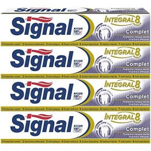 Signal Dentifrice Integral 8 Complet 75ml - Lot de 4 de la marque Signal image 0 produit