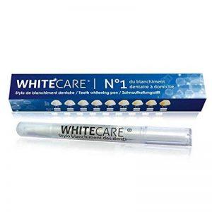 Stylo Blanchiment des Dents Goût Menthe | Stylo dent blanche, pas besoin de kit blanchiment dentaire, à appliquer directement sur les dents | Nettoie et blanchit les dents | Développé dans notre laboratoire, le gel est 100% normes françaises de la marque image 0 produit