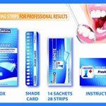 Super Blanchiment des dents - 14 effets professionnels de 28 WHITESTRIP de traitement White Strips Whitestrips Whitestripes White Stripes Bleaching Blanchiment des dents Teeth de la marque Fresh White image 1 produit