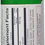 Swanson Menthe Verte (Mentha Spicata) 400mg, 60 gélules - Feuille Complète (100% Naturelle) Réduite en Poudre - Nommé également Menthe en Épi, Crépue, Douce, Frisée, Marocaine (Full Spectrum Spearmint Leaf capsules) de la marque Swanson image 2 produit