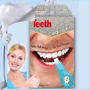 Symeas Natural système de blanchiment des dents Kit d'outils Pro Nano Kit de blanchiment des dents Kit de nettoyage des dents Blanchiment des dents Éponge Nettoyage Taches de la marque Symeas image 0 produit