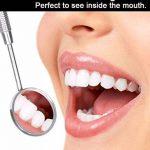 Trousse dentaire/Set Dentaire 4 Pcs – Outils dentaires - Pioche dentaire - kit dentaire - Décapant de plaque, grattoir dentaire, miroir dentaire et détartreur pour la Maison,le Voyage, le Dentiste de la marque Kovira image 4 produit