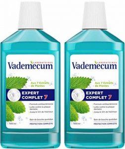 Vademecum - Bain de Bouche - Expert Complet 7 - Flacon 500 ml - Lot de 2 de la marque Vademecum image 0 produit