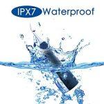 VLOXO Hydropulseur Oral Jet Dentaire professionnel sans Fil Oral Irrigateur Rechargeable – 3 Modes IPX7 Hydrorésistant avec Réservoir d'Eau à Grande Capacité – Noir Mat (Noir Mat) de la marque VLOXO image 4 produit