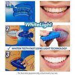 Whitelight Kit Blanchiment Dentaire Professionnel, Kit Blanchiment des Dents à Domicile Complet et Efficace pour des Dents Blanches et Saines Sans Peroxyde de la marque TANEL image 2 produit