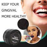 Woya poudre blanchiment dentaire charbon au actif naturel dent blanche dentifrice de bambou de la marque Woya image 1 produit