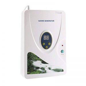 Yosoo 600 mg / h hydroponique d'eau douce de la viande des légumes machines générateur d'ozone numérique ozone de désintoxication de fruits (roue de minuterie - 1-60 min) (3189) de la marque Yosoo image 0 produit