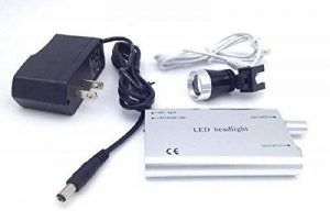 Zgood dentaire Portable 3W Phare LED Head Light Lampe pour chirurgical loupes Lunettes UK Stock Silver de la marque Zgood image 0 produit
